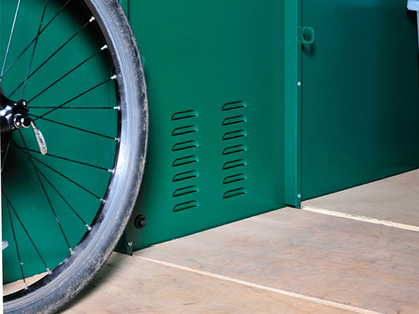 cycle storage protective floor