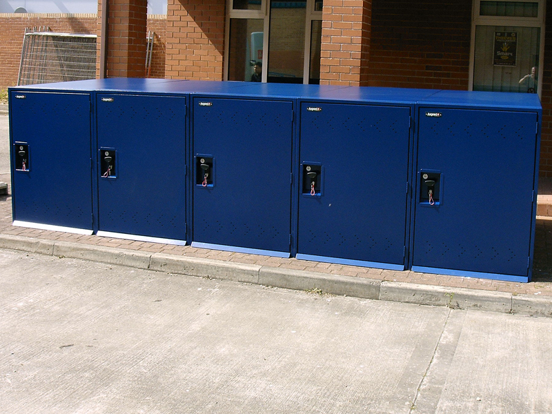Police Bike Lockers Case Study
