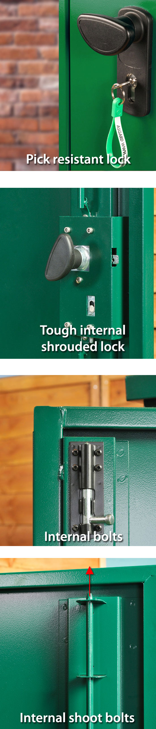 Metal Shed Locking System