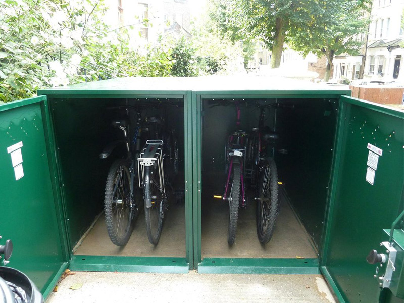 Secure Bike Lockers