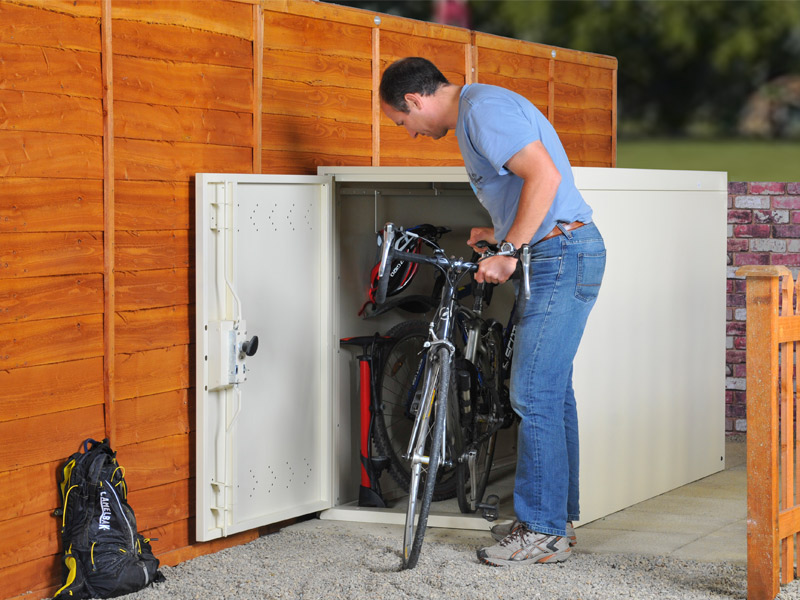 Twin Bike Locker