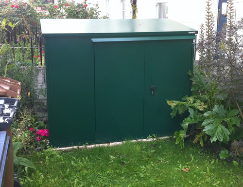 addition garden shed from asgard