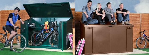 Bike Storage and Metal Bike Sheds