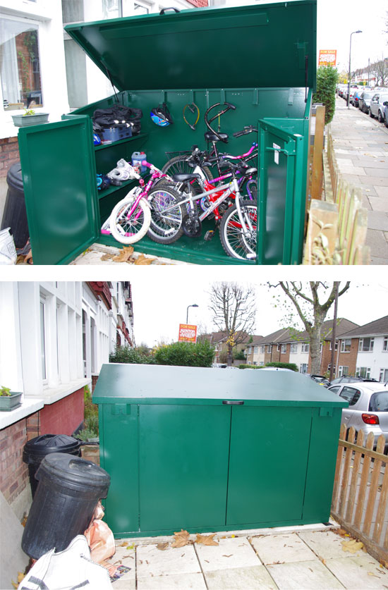 Bike Storage From Asgard