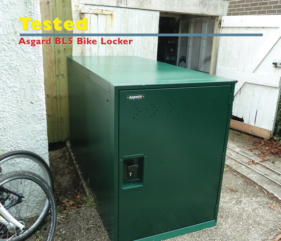 Asgard double bike locker reviewed