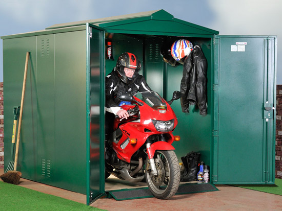 Motorcycle storage locksmith accredited