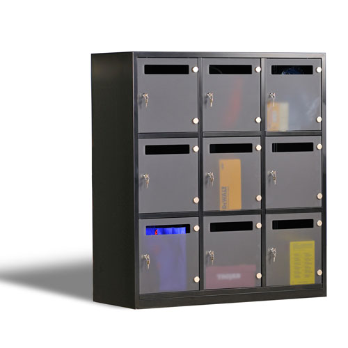 Metal Lockers InBlack From Asgard