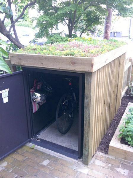 the best bike locker in the