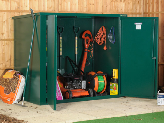 Vangard the best in economical garden security sheds