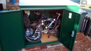 Asgard Addition bike storage