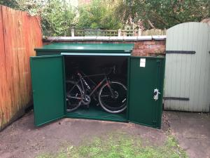 Fantastic bike shed