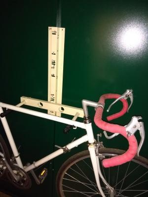 Great way to store my bike