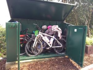 The best bike shed ever