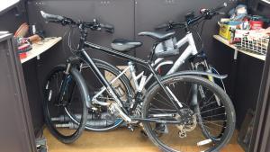 Love my Asgard Bike Shed.