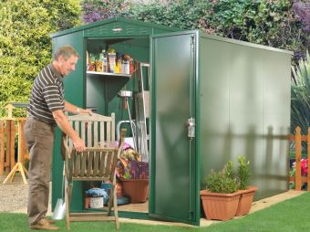 5 x 11 Metal shed - The Flexistore 1533