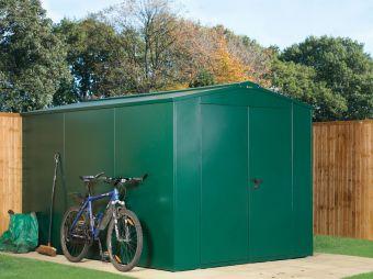 7x11 metal garden shed