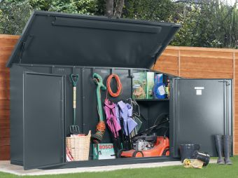 8ft x4ft metal shed storage