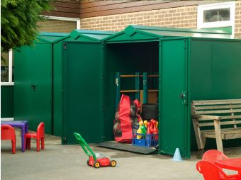 Centurion - Heavy Duty Metal Shed