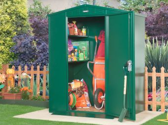 5x4 Metal shed with floor- The Flexistore 1511