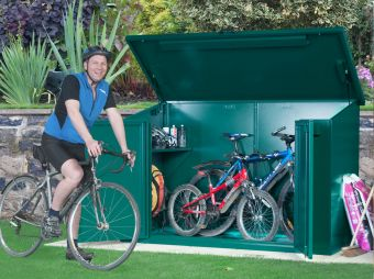 Metal Bike Storage - The Asgard Access