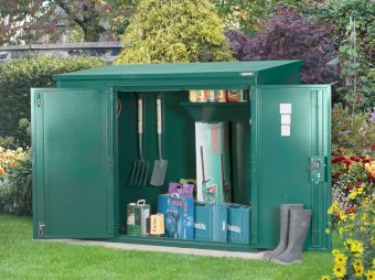 High Security Metal Garden Shed Storage - Police Approved