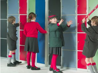 School lockers and wetroom changing room lockers