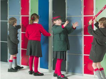 School lockers and wetroom changing room lockers