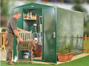 Flexistore 1533 - metal shed