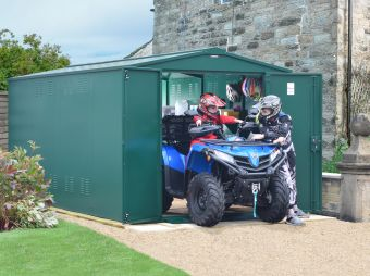 Ventilated Gladiator Quad Bike Storage