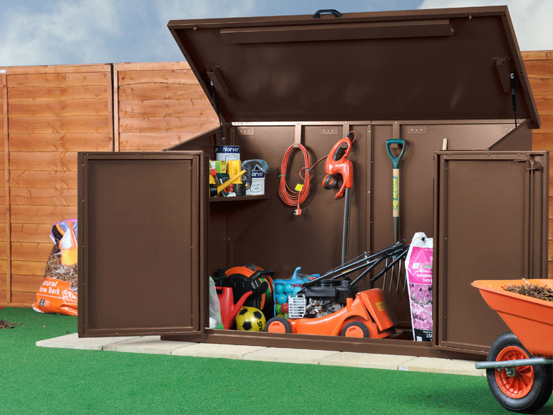Save on your metal garden shed this week only