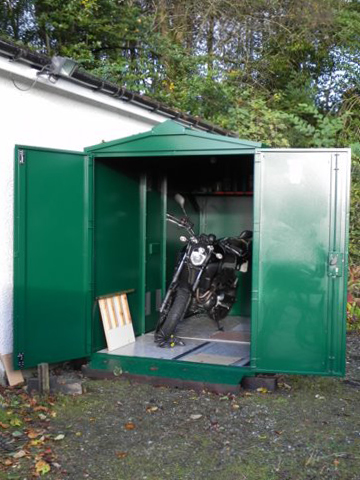 Customer review of the Motorcycle Garage from