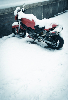 Tips for using your motorcycle this winter