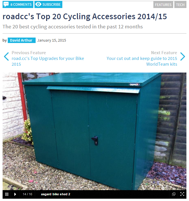 roadCC Top cycling accessories