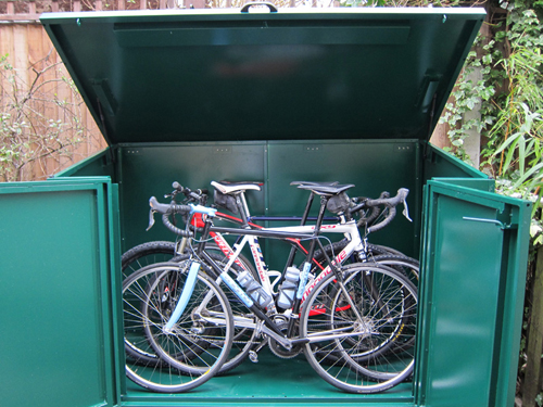 The Ride Journal Magazine Reviews Asgard Bike Storage