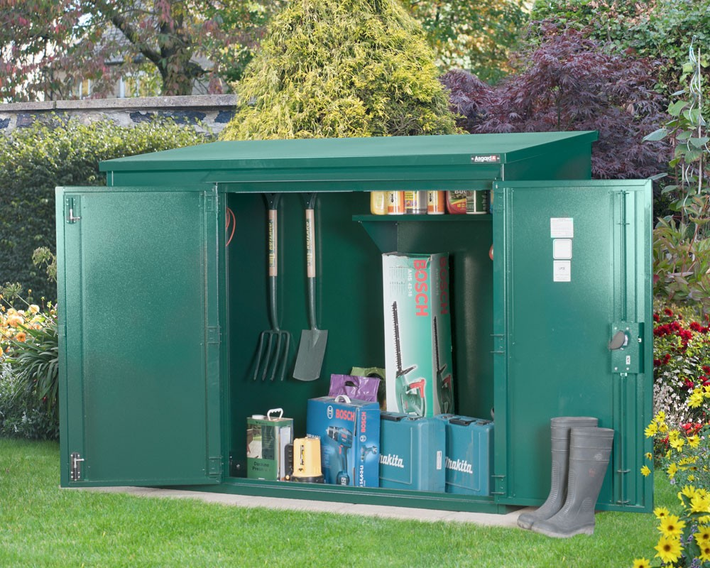 Superbe 6 X 3 Small Metal Garden Shed