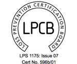 Secure metal sheds LPCB Approved