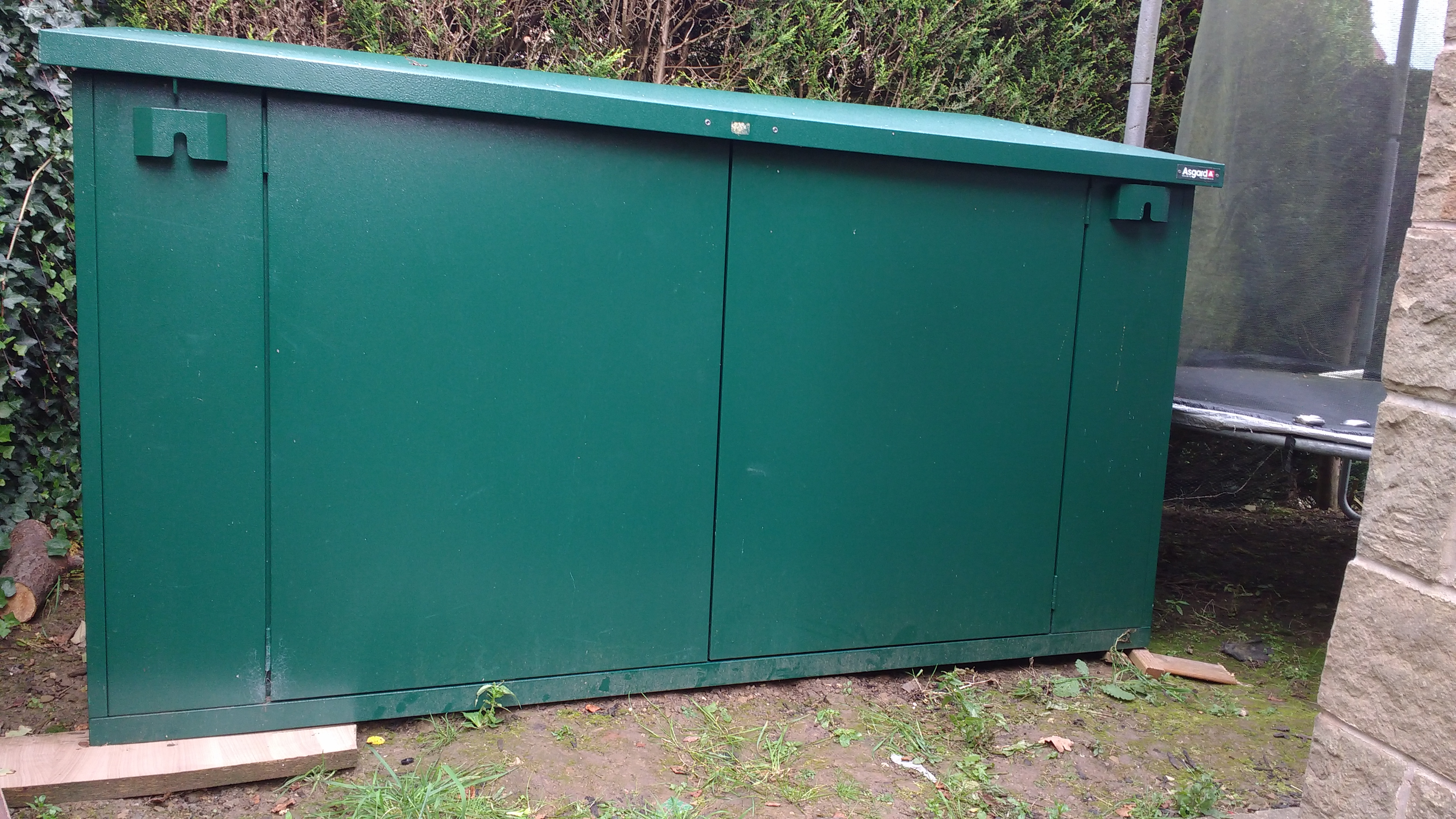 Bad shed installation