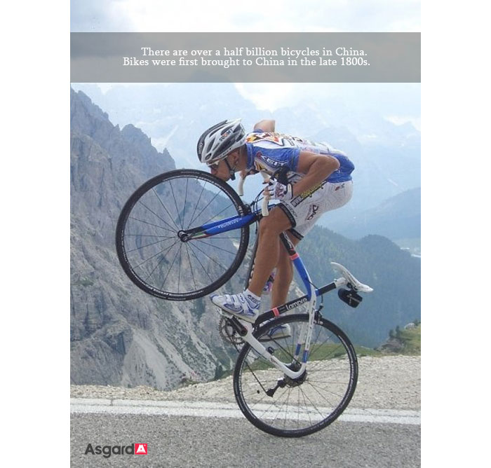 Asgard Bike Facts Four
