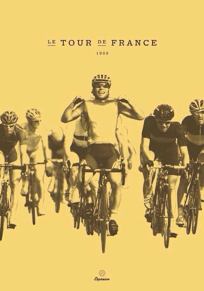 TdF Vintage Poster