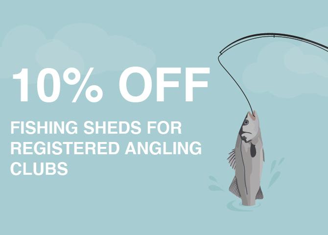 Fishing Equipment Storage Discount