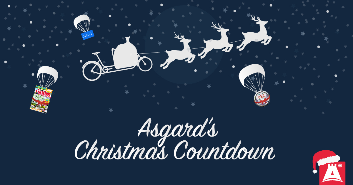 Asgard secure steel storage Christmas