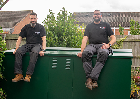 The Asgard Installation Team - Complete The Bike Shed