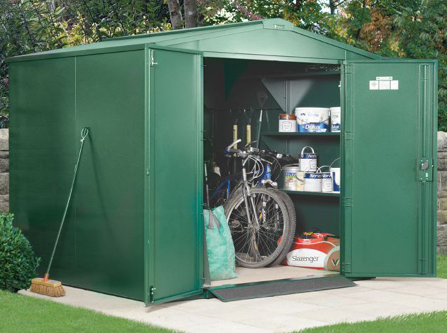 Garden Secure Steel Storage