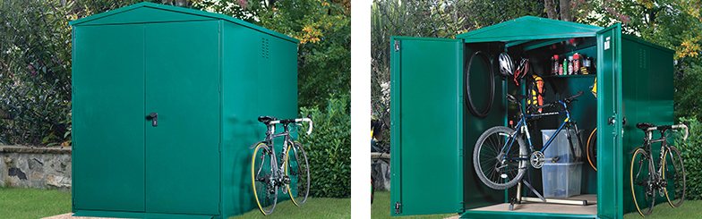 Centurion secure cycle storage