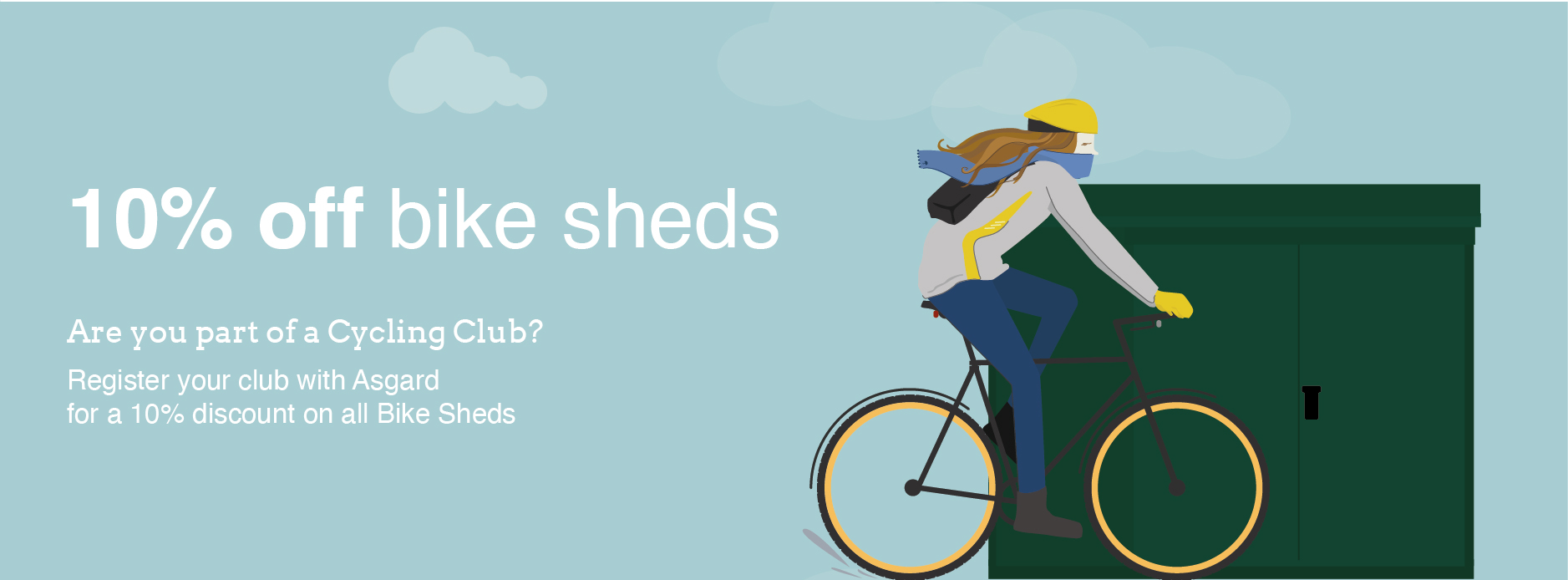 Cycling Club Bike Storage Discounts