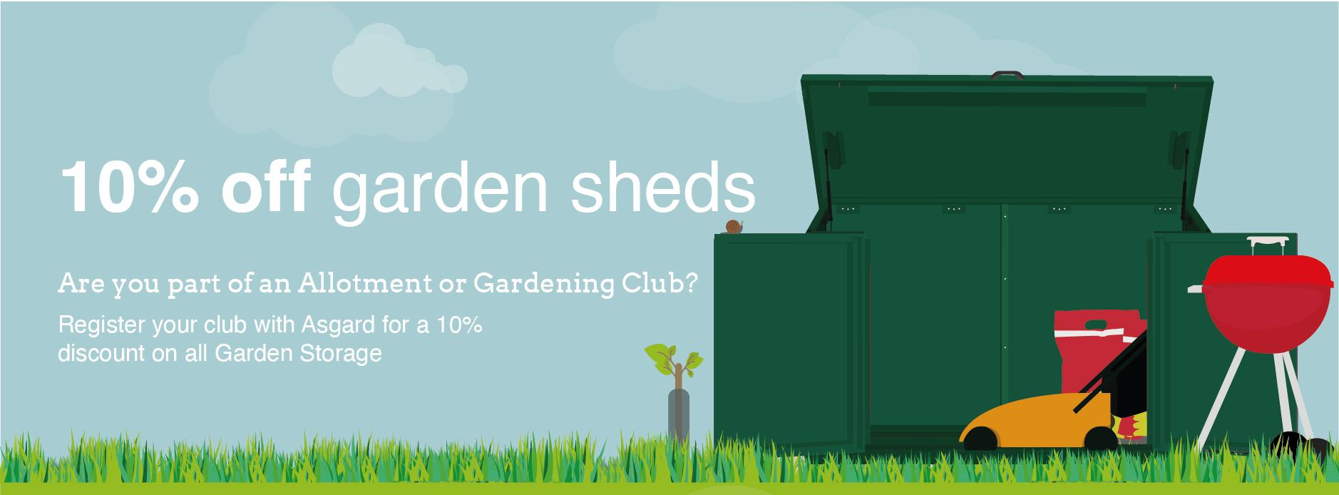 Asgard garden shed discounts