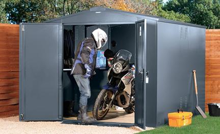 Gladiator Motorbike Shed