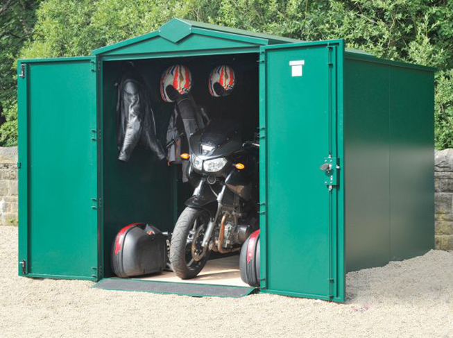 Metal Sheds for Motorcycles