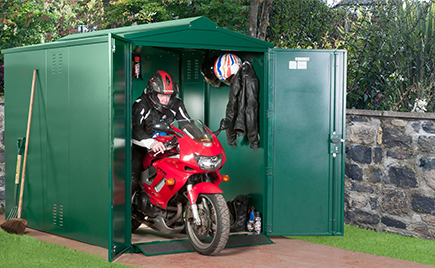 Centurion Motorcycle Shed