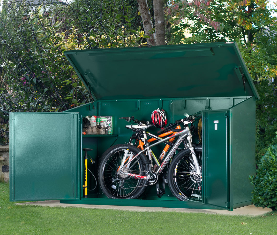 Access bike storage for 4 bikes